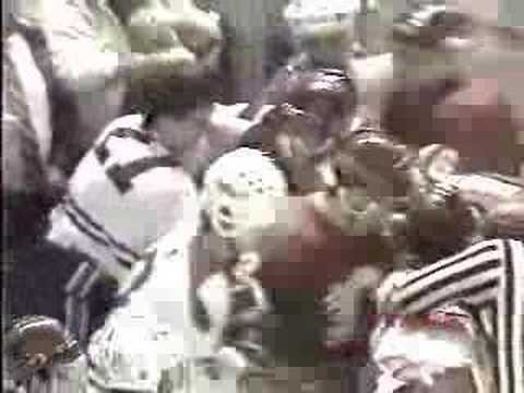 Claude Lemieux vs. Jim Peplinski