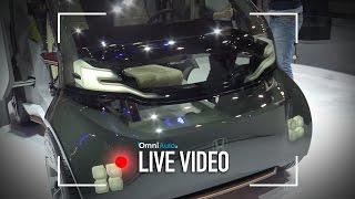 Honda NeuV, prove di citycar a guida autonoma | CES 2017