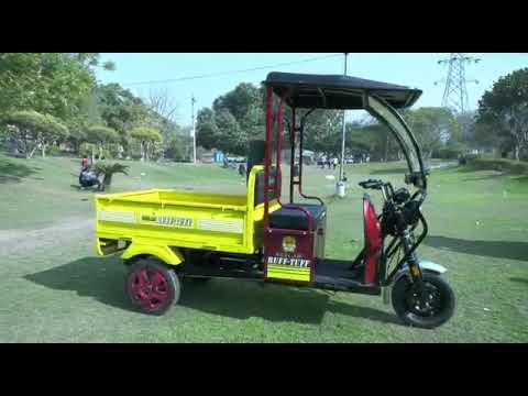 Neelam Ruff Tuff Loader E- Rickshaw