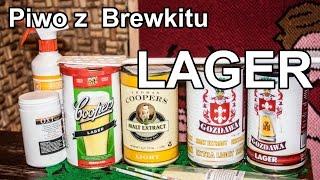Lager cz. 1/2 - domowe piwo z Brewkitu. Jak zrobić?
