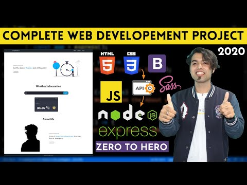 Complete Web Development Course Project In One Video In Hindi ...