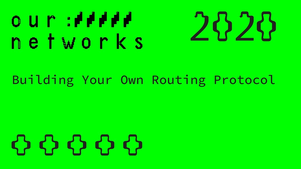 Video thumbnail for Building Your Own Routing Protocol