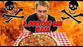 NAJOSTRZEJSZA PIZZA W POLSCE CHALLENGE w AL FORNO (SOS z CAROLINA REAPER) | [Epic Hot Meal]
