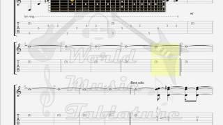 Dream Theater   Misunderstood GUITAR TAB