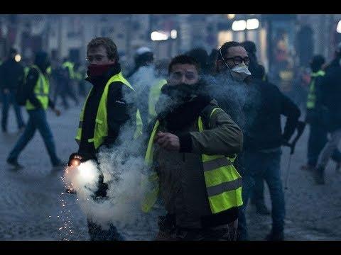 Как действия Эмманюэля Макрона могут повлиять на протестное движение во Франции? Обсуждение на RTVI