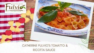Catherine Fulvio's Tomato & Ricotta Sauce