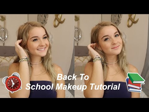 DRUGSTORE Back to School Makeup Tutorial | Quick & Easy