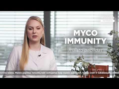 MYCO IMMUNITY, 30 kapsulių