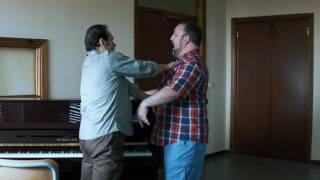 Salvatore Fisichella teaching Jack LiVigni