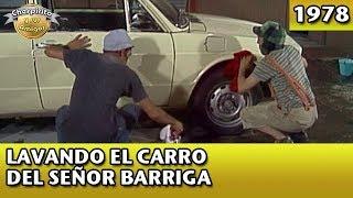 El Chavo   Lavando el carro del Sr. Barriga (Completo)