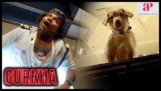 Gurkha Movie   Yogi Babu defuses the bomb   Snippers surround the mall   Anandaraj   Raj Bharath