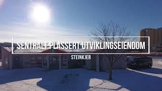 Sentralt plassert utviklingseiendom i Steinkjer vurderes solgt