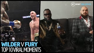 Top 10 most viral moments from Wilder v Fury first fight
