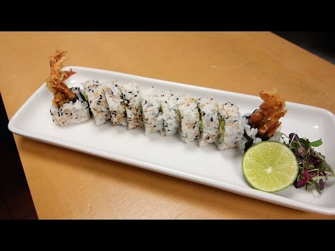 Spider Roll – How To Make Sushi Series