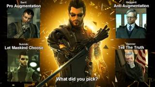 Deus Ex: Human Revolution - All Endings