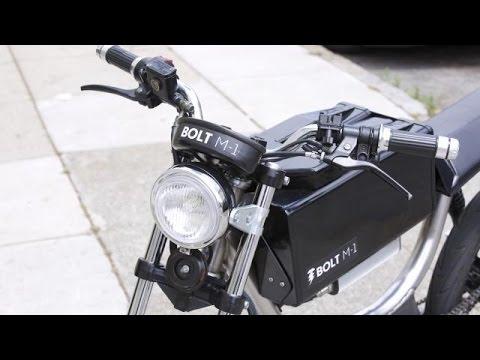 Bolt's High Tech Electric Motorbike