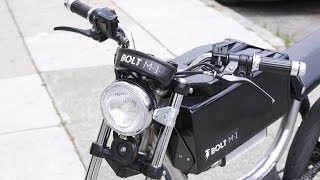 Bolt's High Tech Electric Motorbike