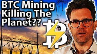 Bitcoin mining nachhaltige Energie