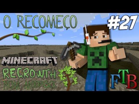 Minecraft - O Recomeço #27 - Muitas Quests e Machado Boladão (Tinkers MOD)