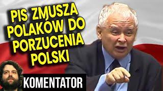 PIS Zmusza Polaków do Porzucenia Polski bo Chce Więcej Pieniędzy – Analiza Komentator Bank Finanse