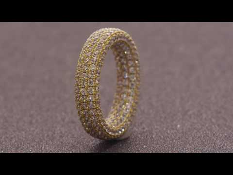 The Eternity Ring (.925 Sterling Silver)   Rings   King Ice