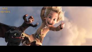 How To Train Your Dragon 3 - Family Of Hiccup Meets Toothless In Ending Scene