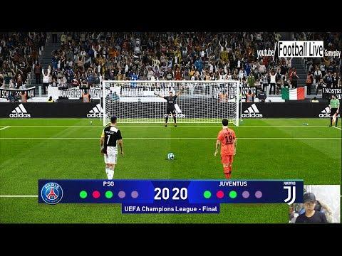 PES 2020 | PSG vs Juventus | Final UEFA Champions League (UCL) | Penalty Shootout