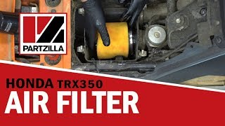 How to Change the Air Filter on a Honda TRX350 Rancher | Partzilla.com
