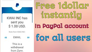 (Expired)FREE 1 DOLLAR INSTANTLY IN PAYPAL ACCOUNT || #paytmbadshah