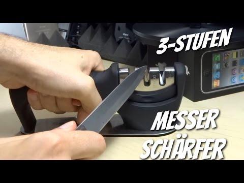 So ist man immer scharf - Der 3 Stufen Messerschärfer von Simple Taste im Test Review