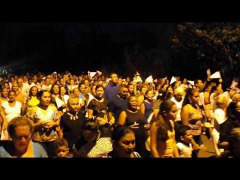 Procissão marca o encerramento dos festejos de Nsa da Conceição em Agricolândia