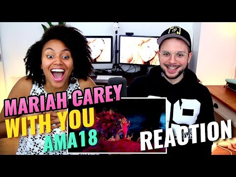 Mariah Carey - With You | Live From The American Music Awards | REACTION