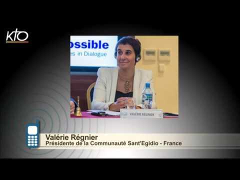 #PrayForParis - Valérie Régnier et la paix comme un chemin
