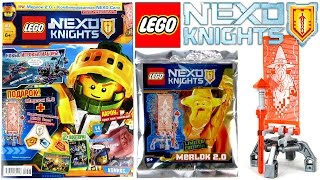 Журнал Лего Нексо Найтс №2 2017 | Magazine Lego Nexo Knights №2 2017