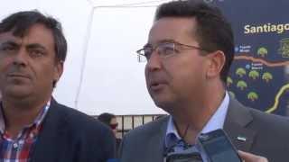 preview picture of video 'Manzano inaugura la I Feria Agroalimentaria de Santiago del Campo, 25 de octubre de 2014'