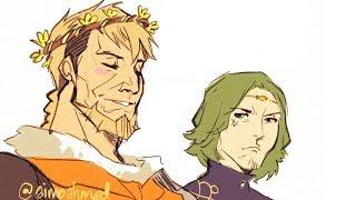 Fire Emblem Three Houses Comic Dub | Flower Crowns
