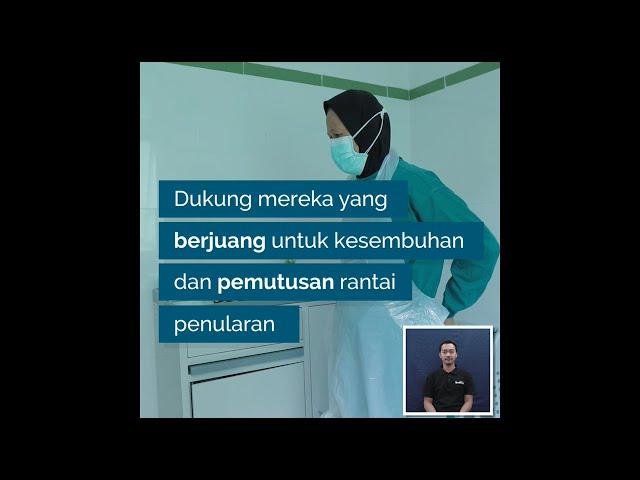 Dukungan Bagi Tenaga Kesehatan di Tengah Pandemi COVID-19