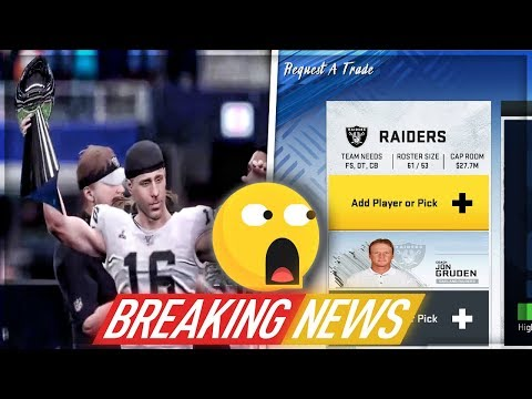 SHOCKING TWIST THAT CHANGES THE RAIDERS FRANCHISE FOREVER! | Madden 20 Franchise | Ep. 44