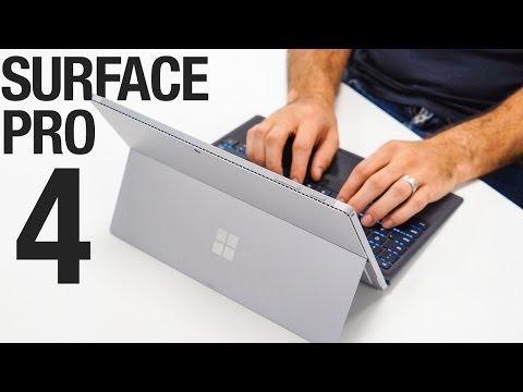 """Microsoft Surface Pro 4, 256GB SSD (12.30"""", Intel Core i7-6650U, 16GB, 256GB, SSD)"""