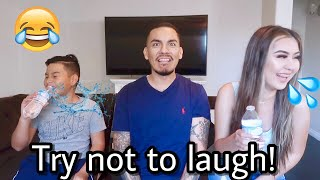 Dad Jokes! Try Not To Laugh Challenge!!!