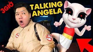 CÁCH TIÊU DIỆT TALKING ANGELA !! | ĐỪNG CHƠI TALKING ANGELA VÀO LÚC 3 GIỜ SÁNG cùng MAZK TV