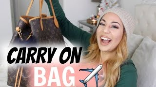 What's In My Carry On Travel Tote ✈️