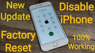 How to Unlock Disable iPhone!! Bypass iCloud Activation lock without WiFi/Password/Apple ID 100%✔