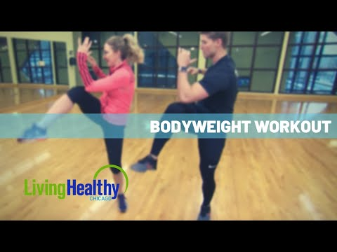 No equipment workout | Living Healthy Chicago