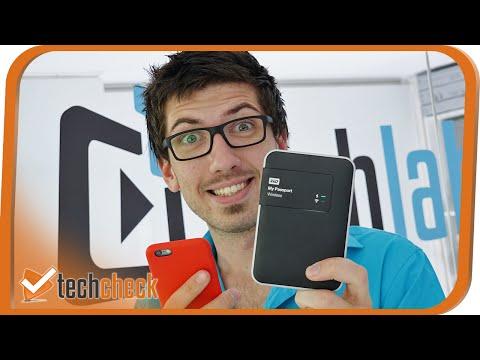 WD My Passport Wireless Festplatte im Techcheck - 4K