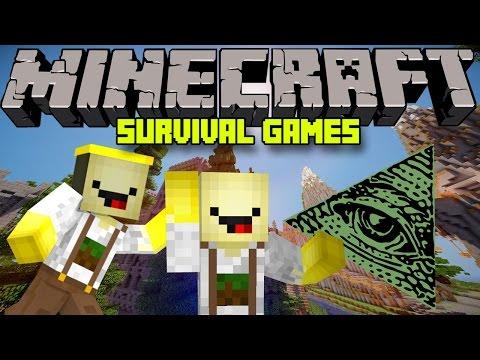 ♣ Minecraft   Survival Games   #4