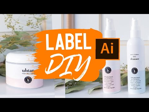 DIY Label Design for Products (Make MONEY with graphic design, FAST!) $ Illustrator - 2020