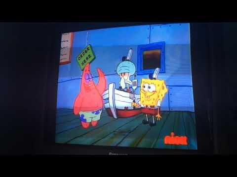 Spongebob Squarepants One Krabby Patty