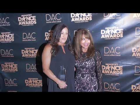 Paula Abdul and Tina London on the 2018 IDA Red Carpet