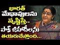 India Produces Doctors,Engineers, Pakistan Produces Terrorists: Sushma Swaraj